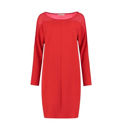 Fifth House Raga dress coral