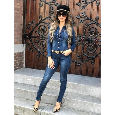 Jaimy Queen denim jumpsuit