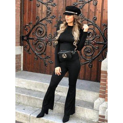 Jaimy Glitter & sparkle suit black