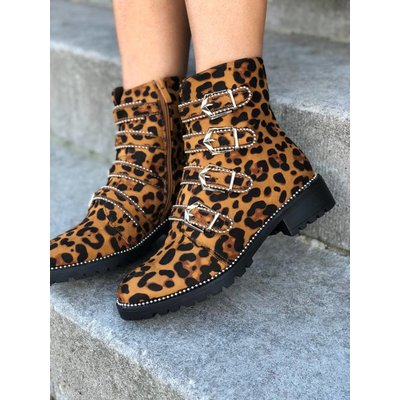 Jaimy Kate booties Leopard