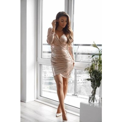 Jaimy All what A girl needs dress rosegold