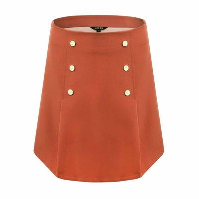 Given Daisy skirt brick