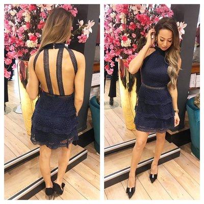 Jaimy Party Maria Dress blue