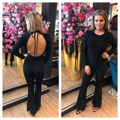 Jaimy Special sparkle jumpsuit black