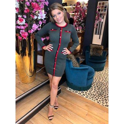 Jaimy Fashion ready dress ARMY GREEN