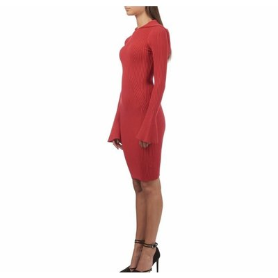 Reinders Olijn dress bloody red