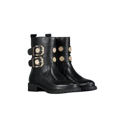 NIKKIE Combat buckle boots