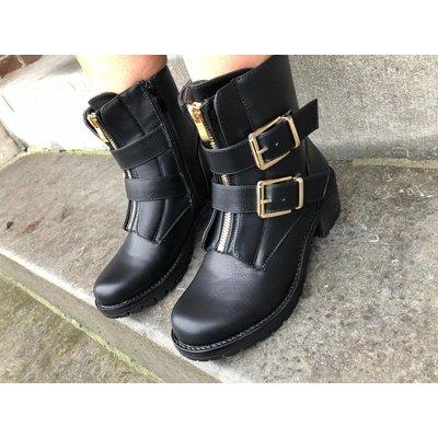 Jaimy Golden booties