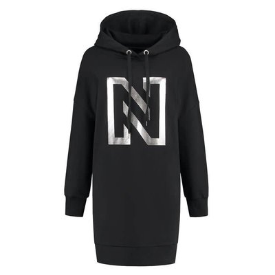 NIKKIE N logo hoody dress