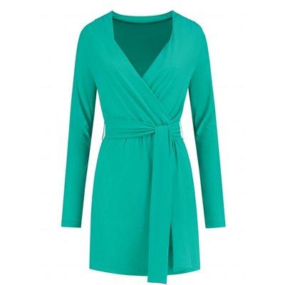 NIKKIE Suzy dress galaxy green