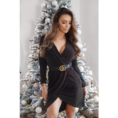 Jaimy Jill edition dress gold