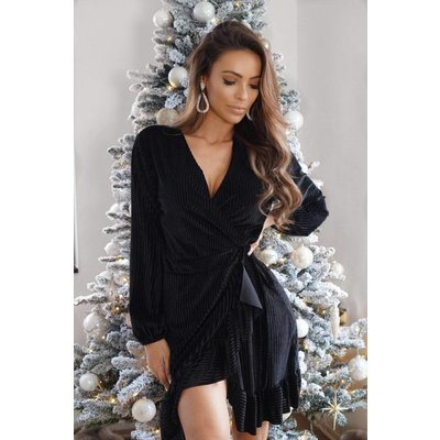Jaimy Velvet Jaidi dress black