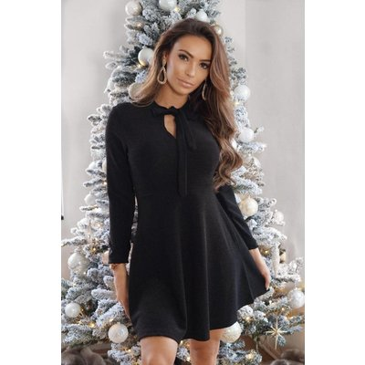 Jaimy Forever Sparkle dress black