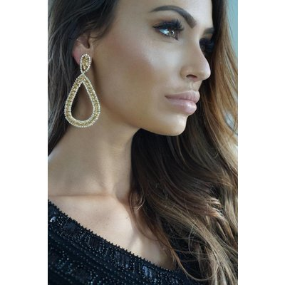 Jaimy Champagne earrings