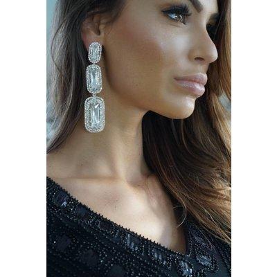 Jaimy Crystal crush earrings