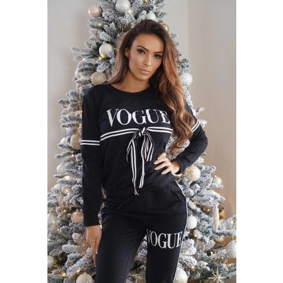 Jaimy Vogue suit black