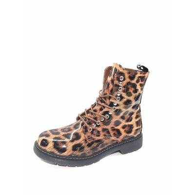 Jaimy Dr LIMITED leopard booties