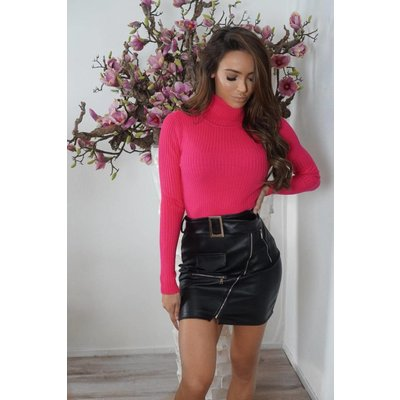 Jaimy NEON col top pink