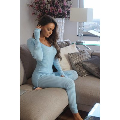 Jaimy Lounge wear 2 piece set clear water