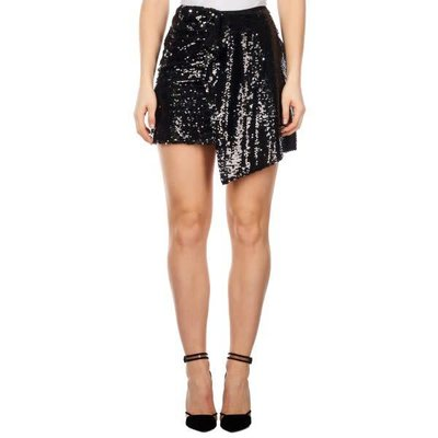 Reinders Skirt sequins true/black silver