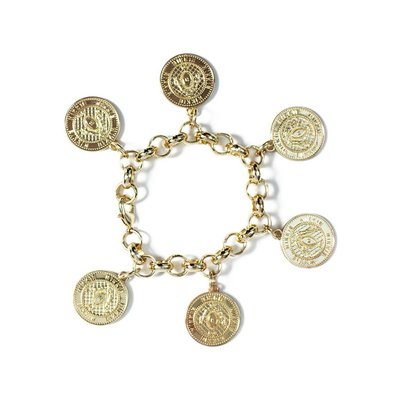 NIKKIE Coin bracelet gold