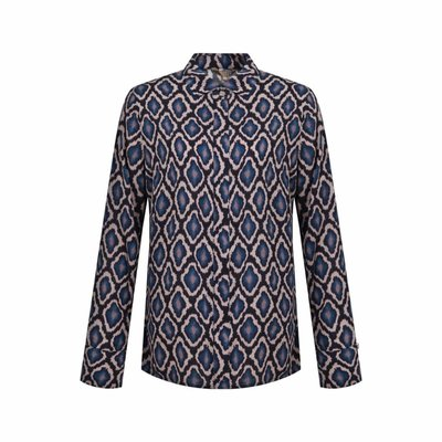 Given Lidia blouse blue