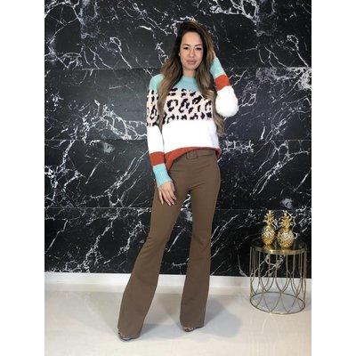 Jaimy Run the world sweater mint