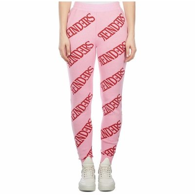 Reinders Pants ALL OVER prism pink bloody red