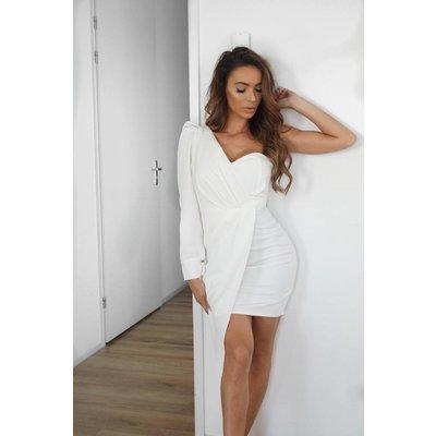 Jaimy Champagne night dress WHITE