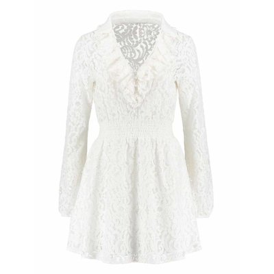 NIKKIE Sascha dress white