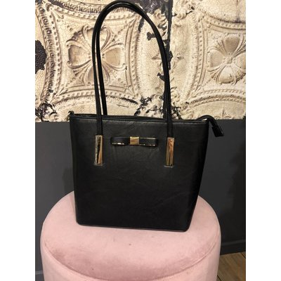 Jaimy Julie shopper bag black
