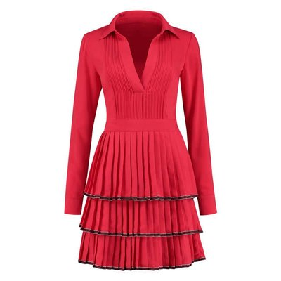 NIKKIE Ruby dress racing red