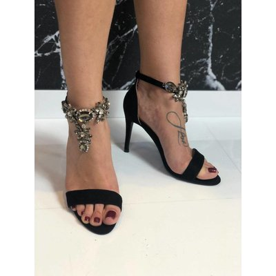 Jaimy Shine babe heels BLACK