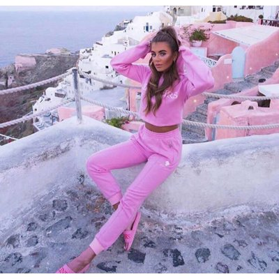 Reinders Hoodie pants prism pink