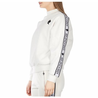 Reinders Tracking SWEATER off white/true black
