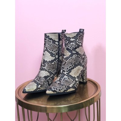 Jaimy Snake ankle boots