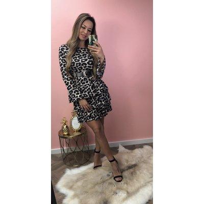 Jaimy Sofie Leopard dress