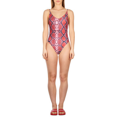 Reinders Swim suit SNAKE BLOODY RED