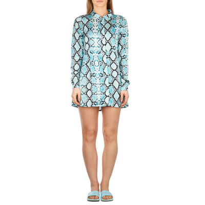 Reinders Blouse dress SHORT SNAKE CLEAR WATER