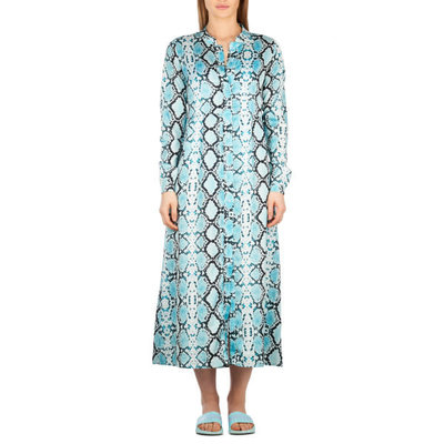 Reinders Blouse dress LONG SNAKE BLOODY CLEAR WATER