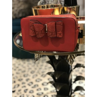 Jaimy Julie mini Bag red