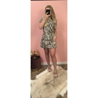 Jaimy Lola snake dress