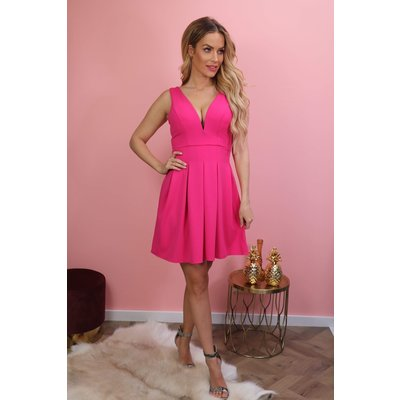 Jaimy LARA dress FUCHSIA