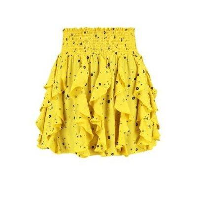 NIKKIE stacey skirt yellow