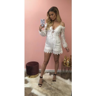 Jaimy COACHELLA  jumpsuit white