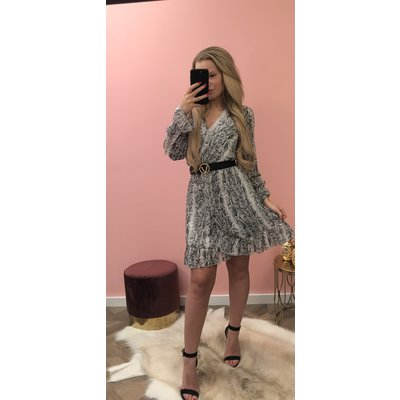 Jaimy Musthave snake dress