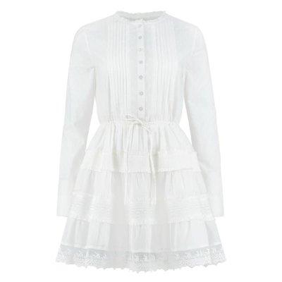NIKKIE Sunny tunic white