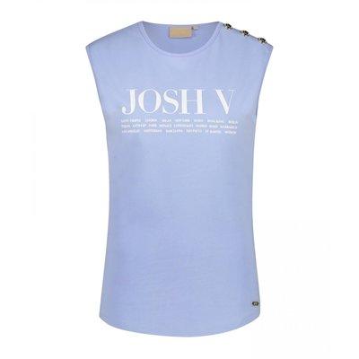 Josh V Indy Cities t shirt powder blue