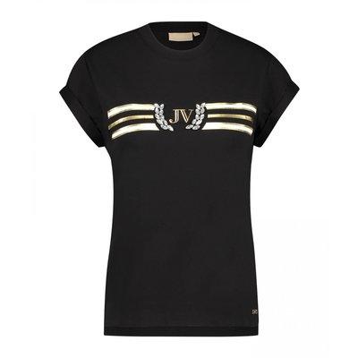 Josh V Dora jewel t shirt Black