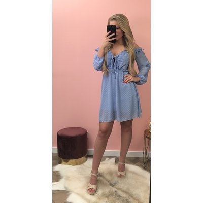 Jaimy Coachella DRESS SKY BLUE